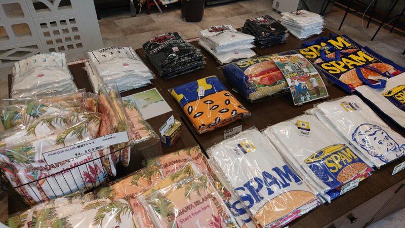 おきなわの中心ゴヤ市場沖縄市中央のTシャツなど