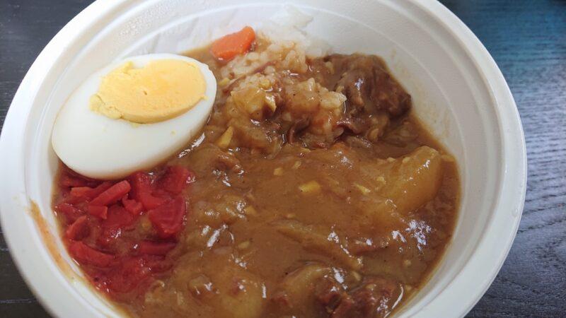 みやざと弁当沖縄市宮里のカレー